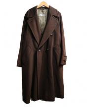 Max Mara(マックスマーラ)の古着「ヴァージンウールダブルウールコート」|ブラウン