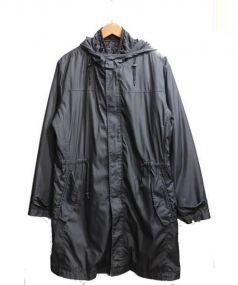 LANVIN en Bleu(ランバン オン ブルー)の古着「ライナー付3wayモッズコート」|ブラック