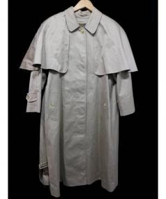 Burberrys(バーバリーズ)の古着「装飾つきステンカラーコート」|ベージュ