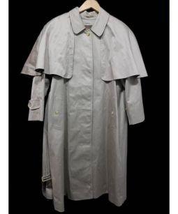Burberrys(バーバリーズ)の古着「装飾つきステンカラーコート」 ベージュ