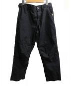 BLACK COMME des GARCONS(ブラック コム デ ギャルソン)の古着「立体裁断パンツ」 ブラック