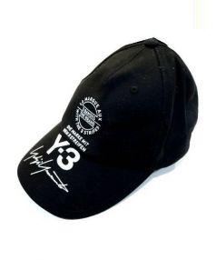 Y-3(ワイスリー)の古着「ロゴ刺繍キャップ」|ブラック