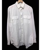 YOHJI YAMAMOTO COSTUME DHOMME(ヨウジヤマモトコスチュームドオム)の古着「ビッグシャツ」|ホワイト