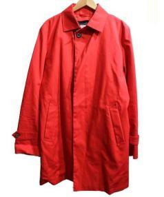 MACKINTOSH PHILOSOPHY(マッキントッシュ フィロソフィー)の古着「ライナー付ステンカラーコート」|レッド