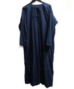 45rpm(フォーティファイブアールピーエム)の古着「ドットワンピ」|インディゴ