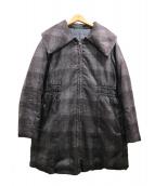 Cara(カーラ)の古着「ダウンコート」|グレー×ブラック