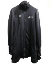 Y-3(ワイスリー)の古着「ペプラムビッグサイズジャージ」|ブラック