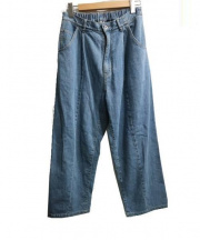 KIIT(キート)の古着「11.5oz BUGGY DENIM」 ブルー