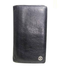 CHANEL(シャネル)の古着「長財布」|ブラック