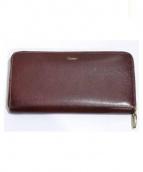 Cartier(カルティエ)の古着「長財布」|ワインレッド