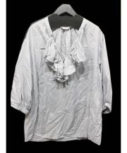 FRAMeWORK(フレームワーク)の古着「フリルブラウス」|グレー