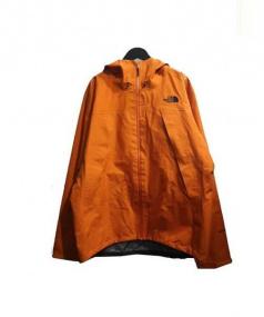 THE NORTH FACE(ザノースフェイス)の古着「クライムライトナイロンジャケット」 オレンジ