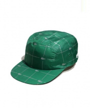 Supreme×LACOSTE(シュプリーム×ラコステ)の古着「REFLECTIVEPRIN NYLONCAMP CAP」|グリーン