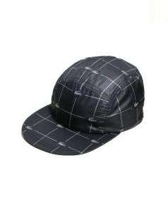 Supreme×LACOSTE(シュプリーム×ラコステ)の古着「REFLECTIVEPRINTNYLONCAMP CAP」|ブラック