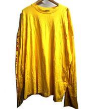 whiteland Blackburn(ホワイトランドブラックバーン)の古着「Big T-Shirts L/S」 イエロー