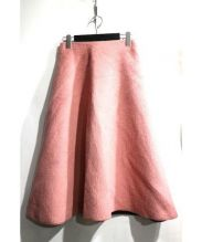 AMERI(アメリ)の古着「ウールフレアスカート」|ピンク