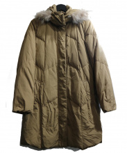 LAUTRE AMONT(ロートレアモン)の古着「ファー付ダウンコート」|キャメル
