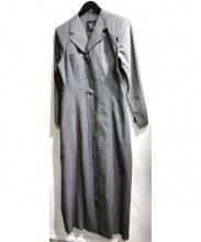 Ys(ワイズ)の古着「シャツワンピース」|グレー