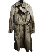 heliopole(エリオポール)の古着「ライナー付トレンチコート」|ベージュ