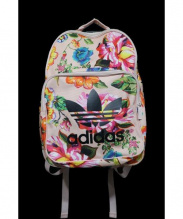 adidas originals(アディダスオリジナルズ)の古着「CLASSIC BACKPACK FLORAL LOLITA」 ピンク