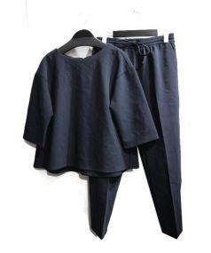 CITYSHOP(シティショップ)の古着「パンツスーツ」|ブラック