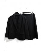 NEWYORKER(ニューヨーカー)の古着「スカートスーツ」|ブラック