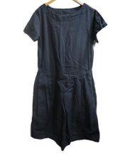 MHL.(エムエイチエル)の古着「リネンワンピース」|ネイビー