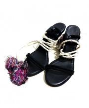 ISABEL MARANT(イザベル マラン)の古着「Suede Aura Cook Heels」|ブラック