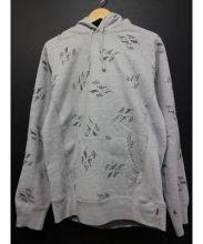 SUPREME(シュプリーム)の古着「Eat Me Hooded Sweatshirt」 グレー