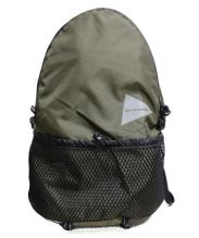 and wander(アンドワンダー)の古着「20L backpack」|カーキ