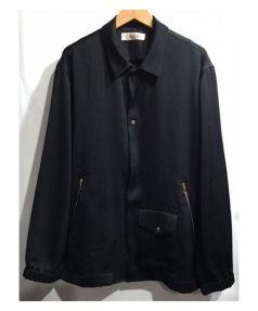 CULLNI(クルニ)の古着「オープンカラーコーチジャケット」|ブラック