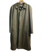 london fog(ロンドンフォッグ)の古着「ライナー付ステンカラーコート」 玉虫色