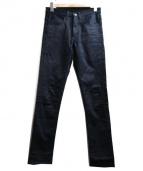 Name.(ネイム)の古着「STRETCH CHINO SKINNY PANTS」|ネイビー
