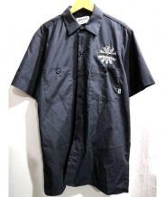 FUCKING AWESOME(ファッキングオーサム)の古着「India Boy Work Shirt」 ブラック
