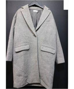 PLST(プラステ)の古着「チェスターコート」|グレー