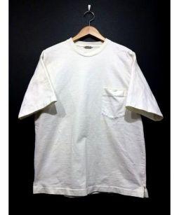 AURALEE(オーラリー)の古着「スタンドアップT」|ホワイト