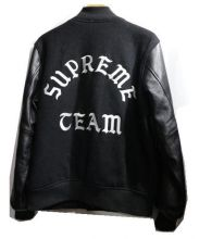 SUPREME(シュプリーム)の古着「Wool Varsity Jacket」|ブラック