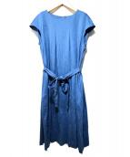 MACKINTOSH PHILOSOPHY(マッキントッシュフィロソフィー)の古着「プライマリーポンチ ワンピース」|ブルー