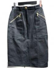CELINE(セリーヌ)の古着「タイトスカート」|ブラック