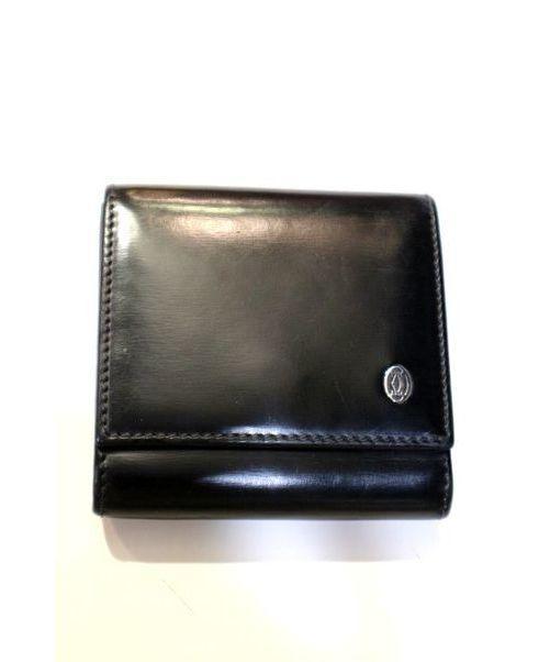 e9b4a2ecb158 中古・古着通販】Cartier (カルティエ) コインケース ブラック サイズ ...