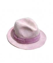 Borsalino(ボルサリーノ)の古着「ハット」|ピンク