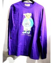 INTERBREED(インターブリード)の古着「ロングカットソー」|パープル