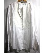 LOUIS VUITTON(ルイ・ヴィトン)の古着「ヨーク切替ダブルカフスシャツ」|ホワイト