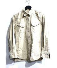 REMI RELIEF(レミレリーフ)の古着「ミリタリーシャツ」|ベージュ