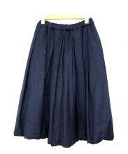 COMME des GARCONS COMME des GARCONS(コムデギャルソン コムデギャルソン)の古着「デザインスカート」|ネイビー
