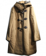 BEAUTY&YOUTH(ビューティアンドユース)の古着「メルトンファーフードライナーコート」|ブラウン