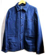 BLUE BLUE(ブルーブルー)の古着「本藍刺し子ユーズドカバーオール」|インディゴ