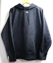 adidas by Alexander Wang(アディダスバイアレキサンダー ワン)の古着「Jacquard  Hoodie」 ブラック