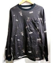 Name.(ネイム)の古着「ルーズロングスリーブTシャツ」|ブラック