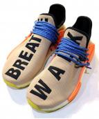 adidas×PHARRELL WILLIAMS(アディダス×ファレルウィリアムス)の古着「PW HUMAN RACE NMD TR」|ベージュ